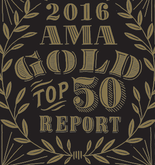 The AMA Gold Report: 2016 Top 50 Market Research Firms