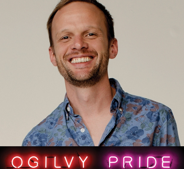 10 Minutes With Sam Pierce on Ogilvy Pride