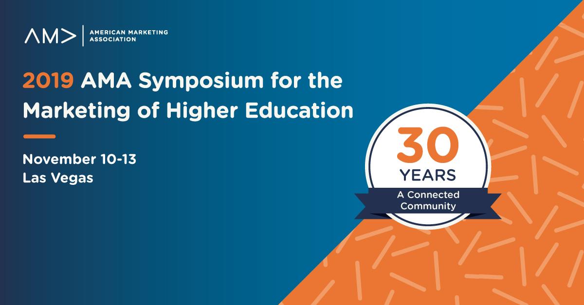 2019 AMA Symposium for the Marketing of Higher Education