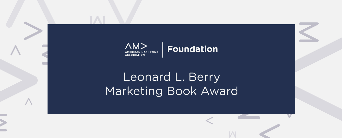 The Leonard L. Berry Marketing Book Award