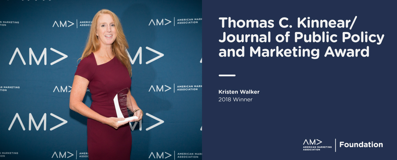 Thomas C. Kinnear/ Journal of Public Policy & Marketing Award