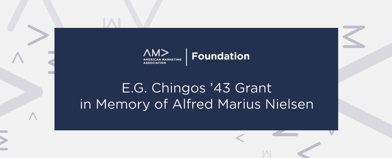 E.G. Chingos '43 Grant in Memory of Alfred Marius Nielsen