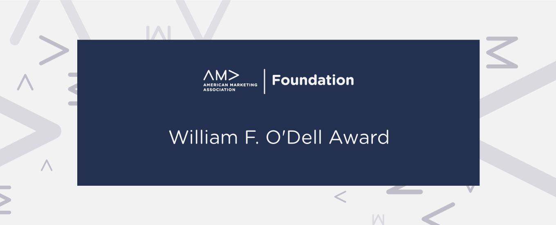 William F. O'Dell Award