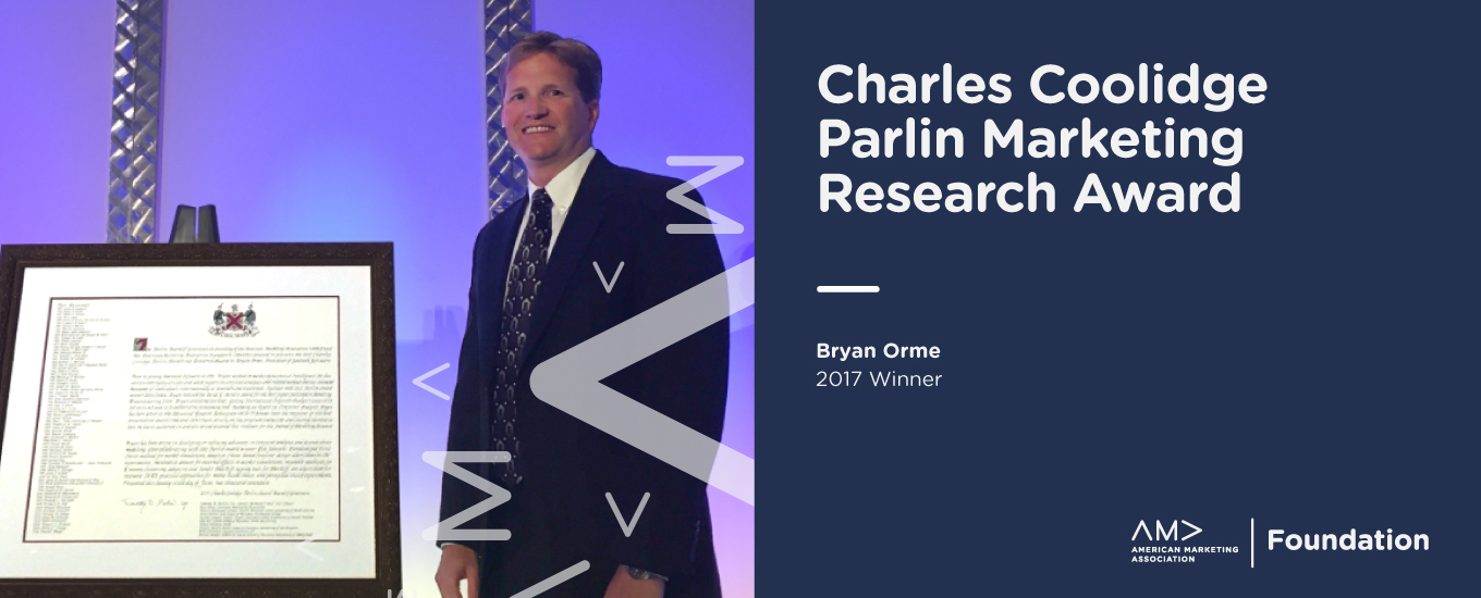 Charles Coolidge Parlin Marketing Research Award