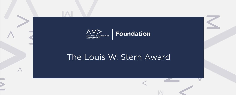 Louis W. Stern Award