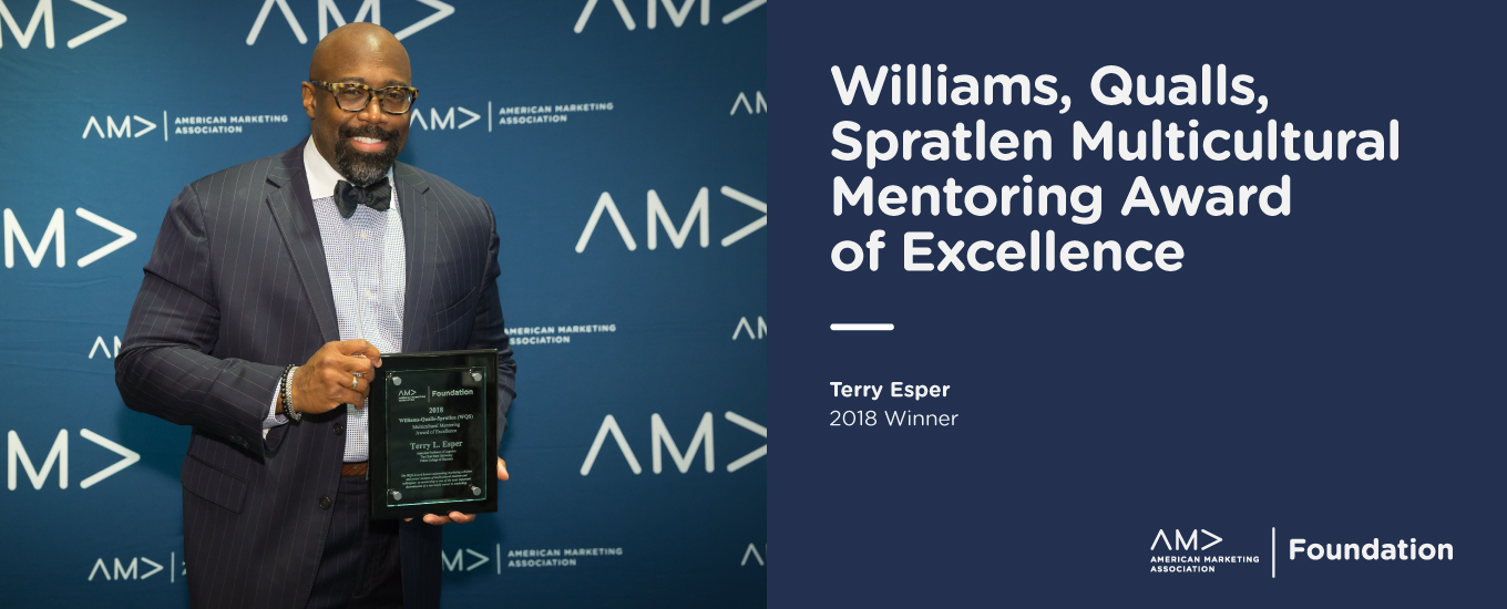Williams-Qualls-Spratlen (WQS) Award: Multicultural Mentoring Award of Excellence