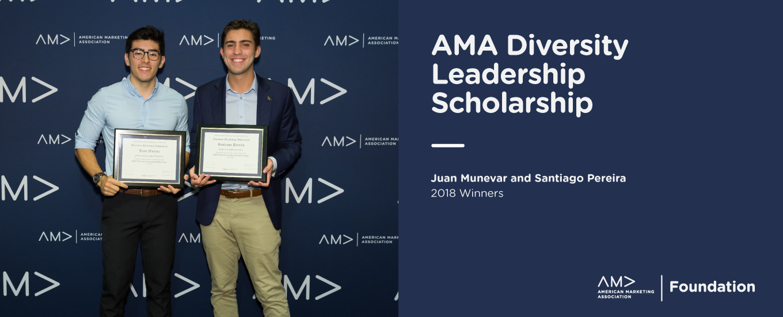 AMA Diversity Leadership Scholarship