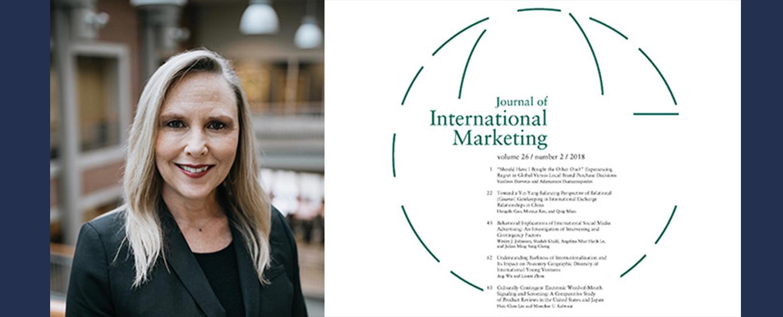 Kelly Hewett Named Journal of International Marketing Editor in Chief Designate