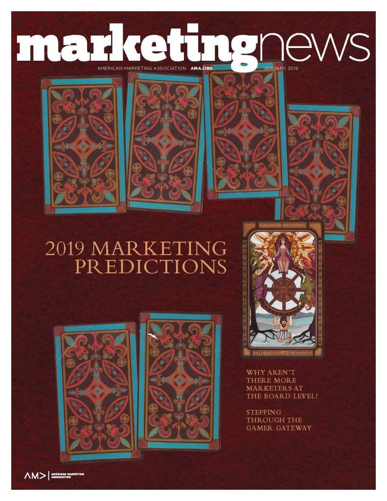 Marketing News January 2019 cover