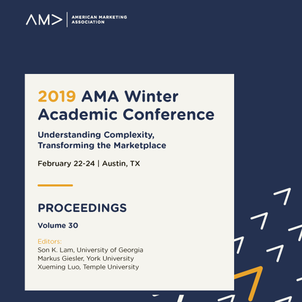 2019 AMA Winter Academic Conference