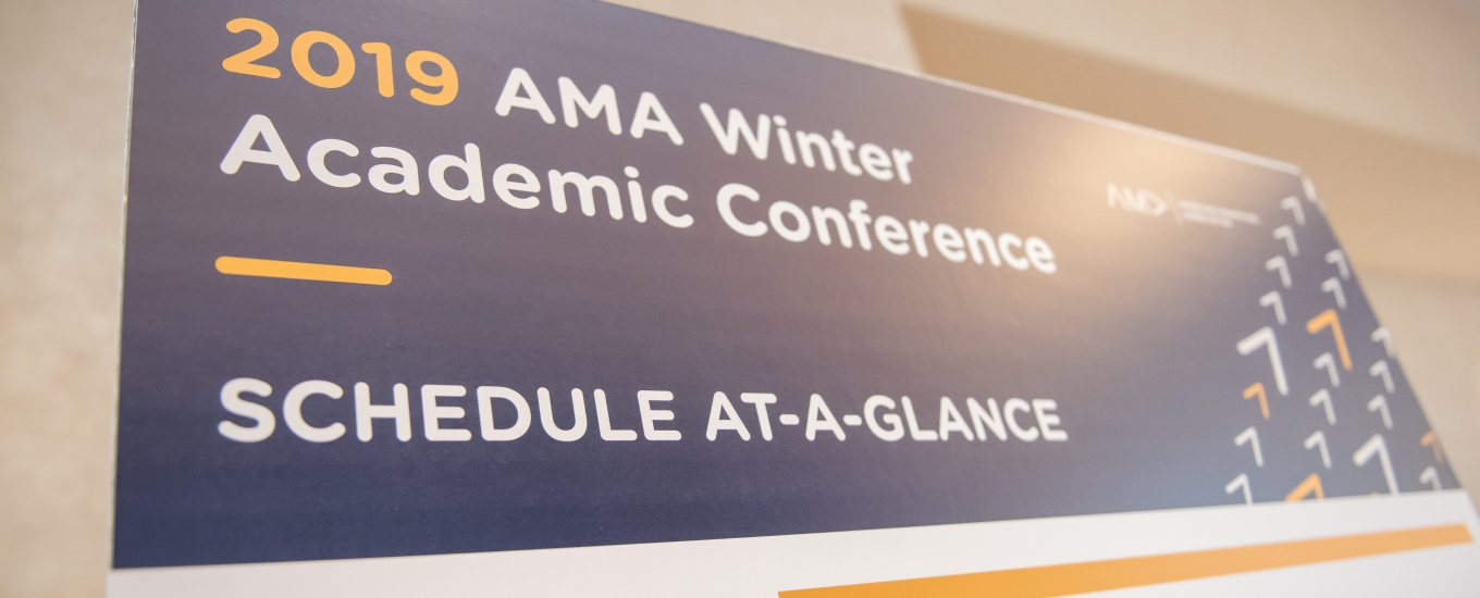 2019 AMA Winter Academic Conference Recap