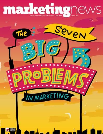 Marketing News April 2016 cover