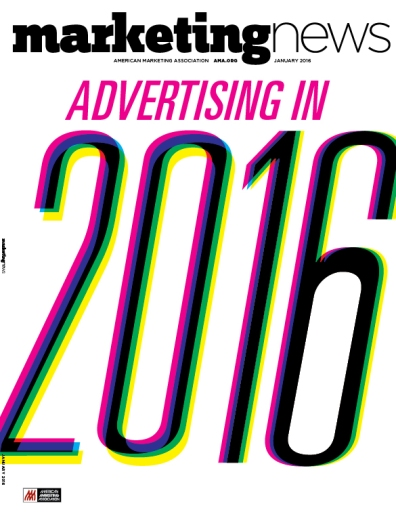 Marketing News January 2016 cover