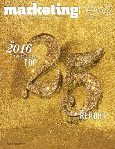 Marketing News October 2016 cover