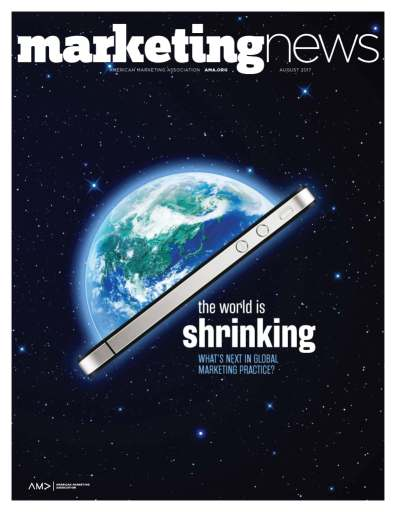 Marketing News August 2017 cover