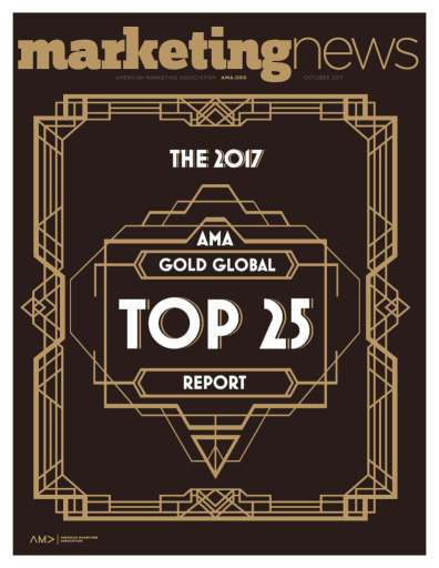 Marketing News October 2017 cover