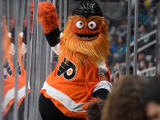 Gritty - mascot for the Philadelphia Flyers
