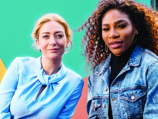 Whitney Wolfe Herd, Serena Williams
