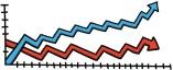 cartoon line graph