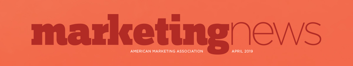 Marketing News April 2019 flag