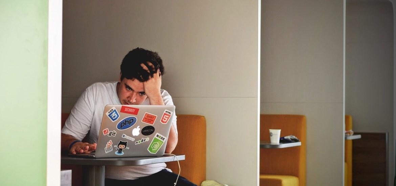 stressed designer