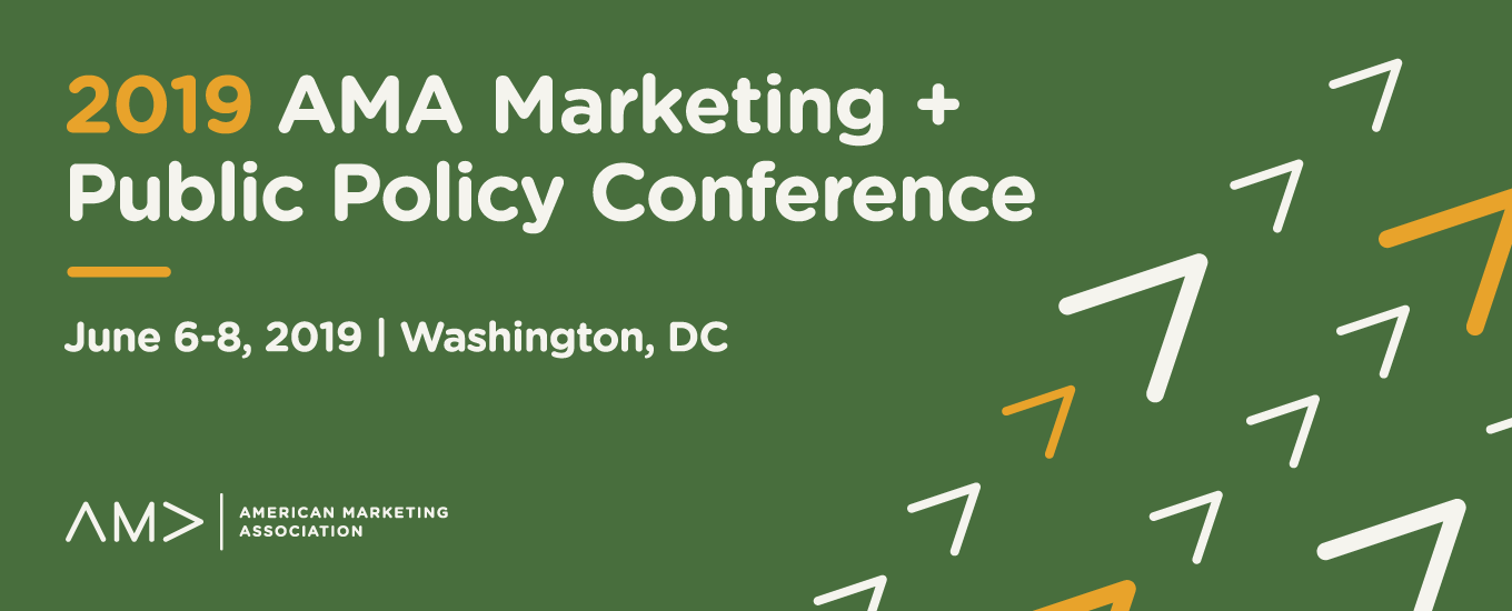 2019 AMA Marketing and Public Policy Conference Award Winners