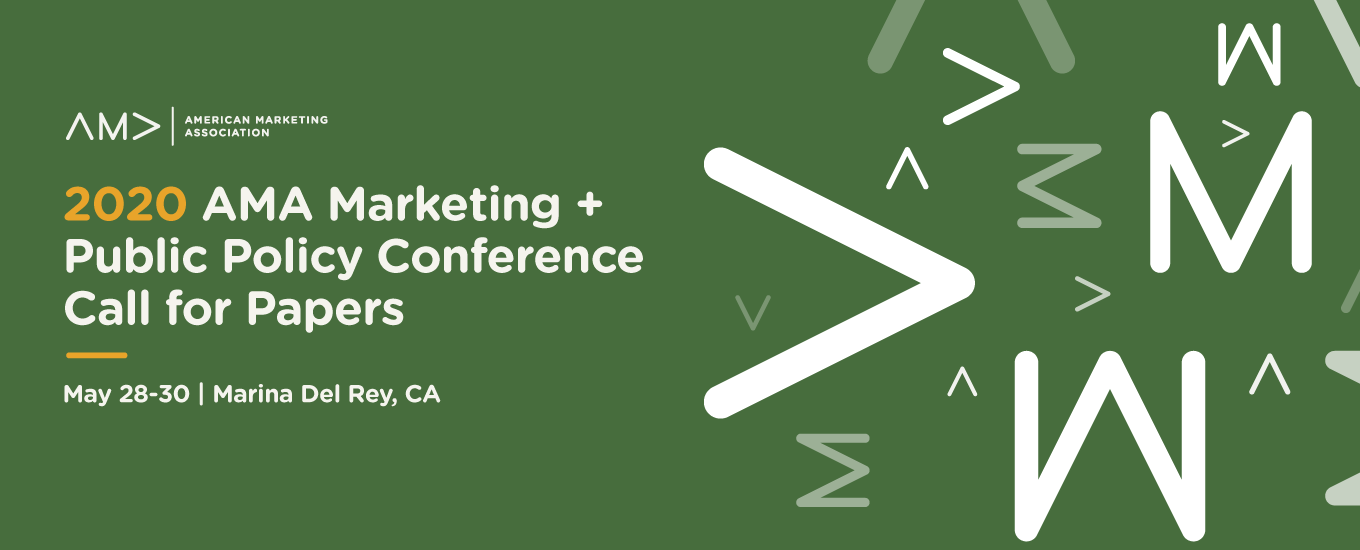 Call for Papers: 2020 AMA Marketing and Public Policy Conference