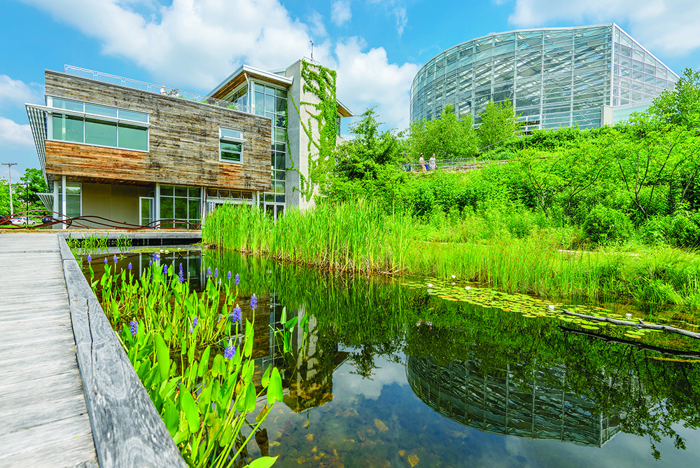 The Center for Sustainable Landscapes at the Phipps Conservatory