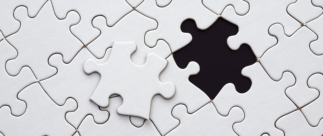 puzzle with misplaced piece