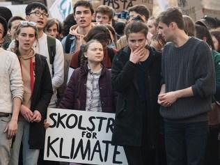 greta thunberg climate strike