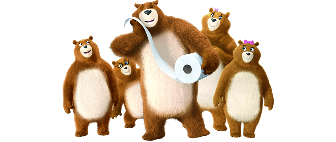 And Now a Word From … The Charmin Bears