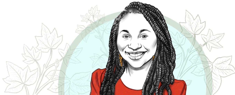 illustration of Mary Owusu