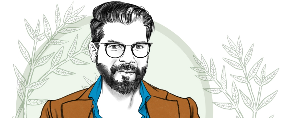 illustration of Pranav Yadav