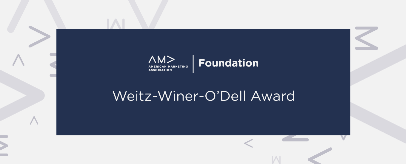 O'Dell Award Renamed Weitz-Winer-O'Dell Award