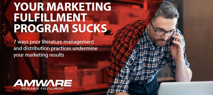 Does Your Marketing Fulfillment Program Suck?