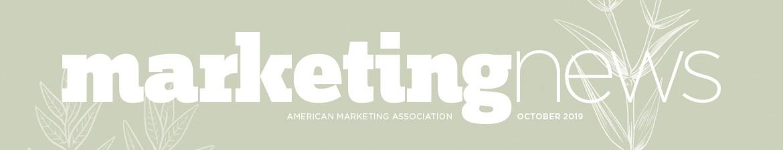 Marketing News October 2019 flag