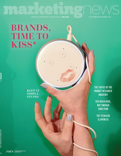 Marketing News November December 2019 cover