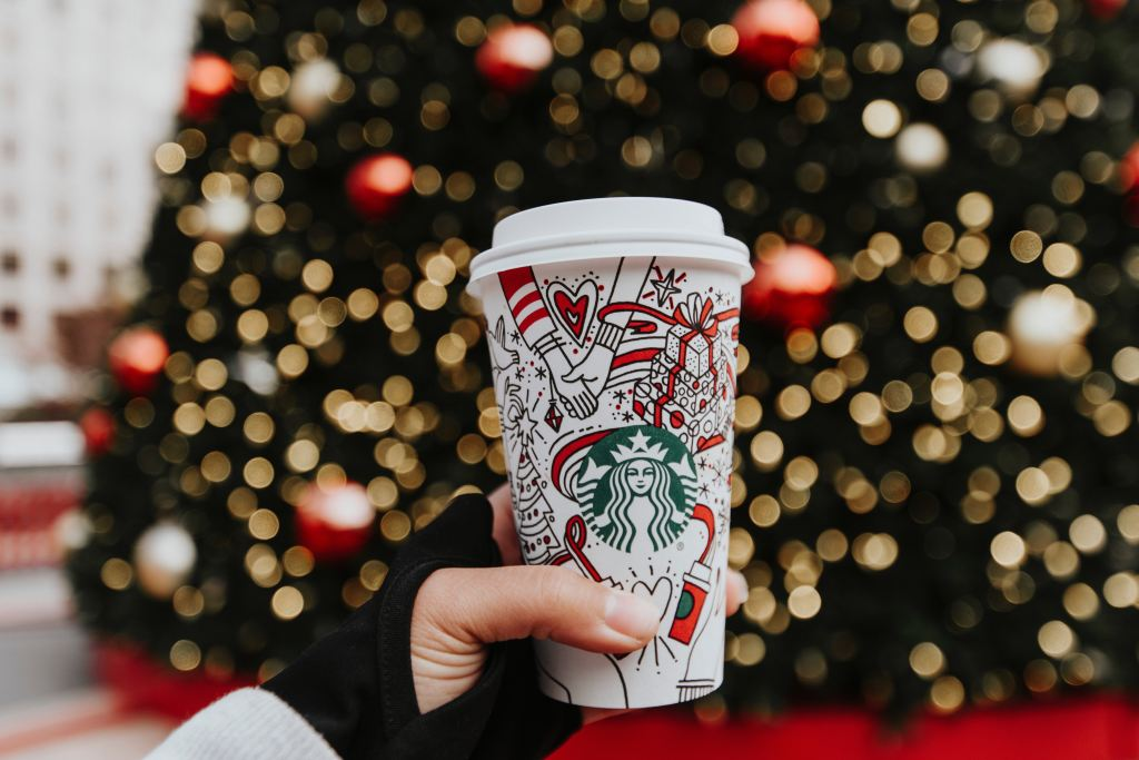 holiday starbucks cup