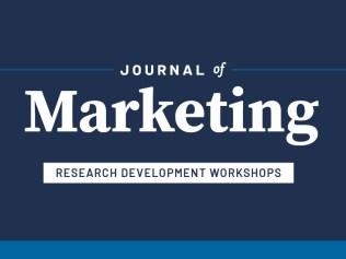 Journal of Marketing Research Development Workshops