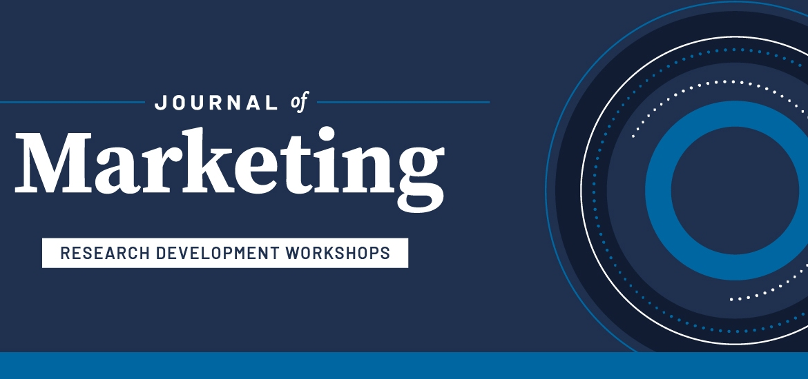 Journal of Marketing Research Development Workshops