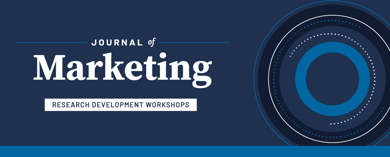 Journal of Marketing-AMA Research Development Workshop