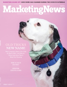 Marketing News Quarterly Spring 2020 cover