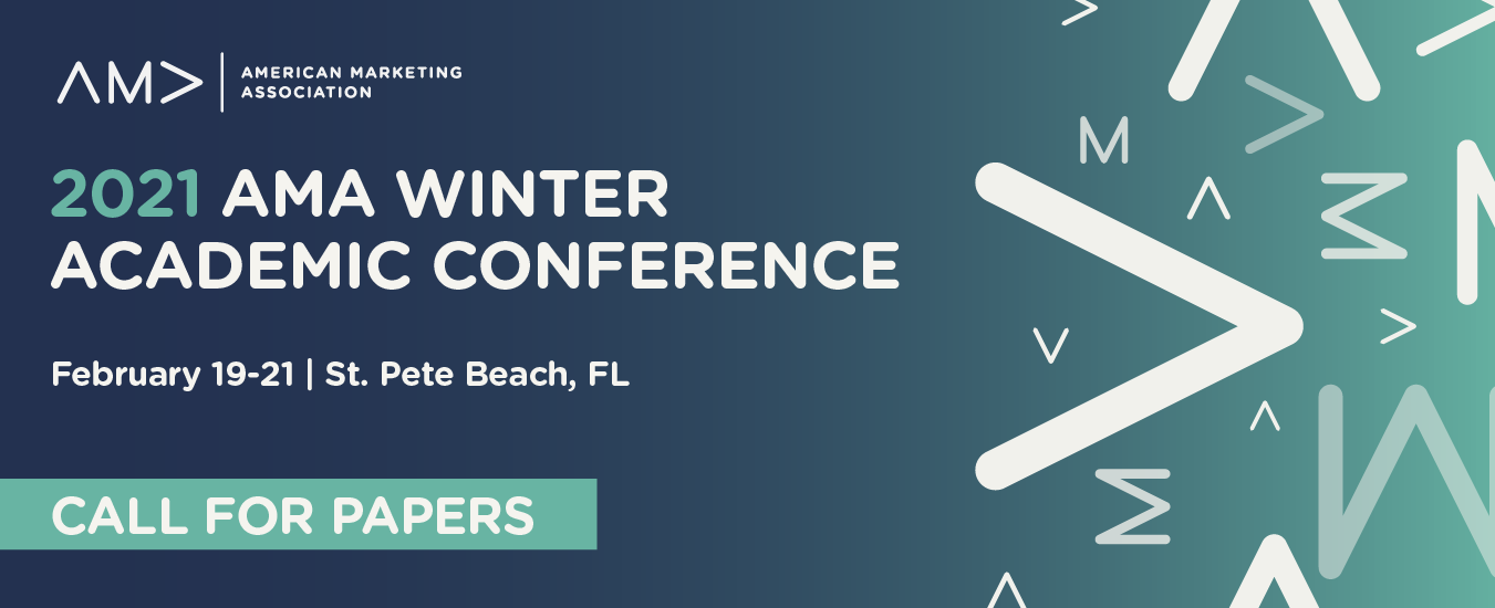 Call for Papers: 2021 AMA Winter Academic Conference