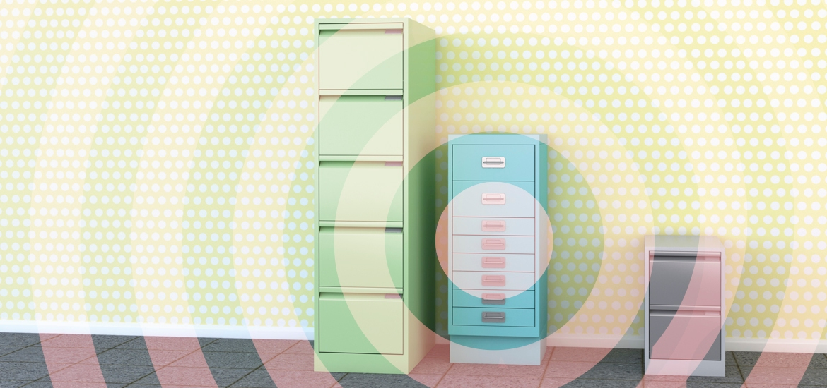 photo illustration of file cabinets