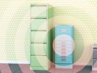 photo illustration of file cabinets