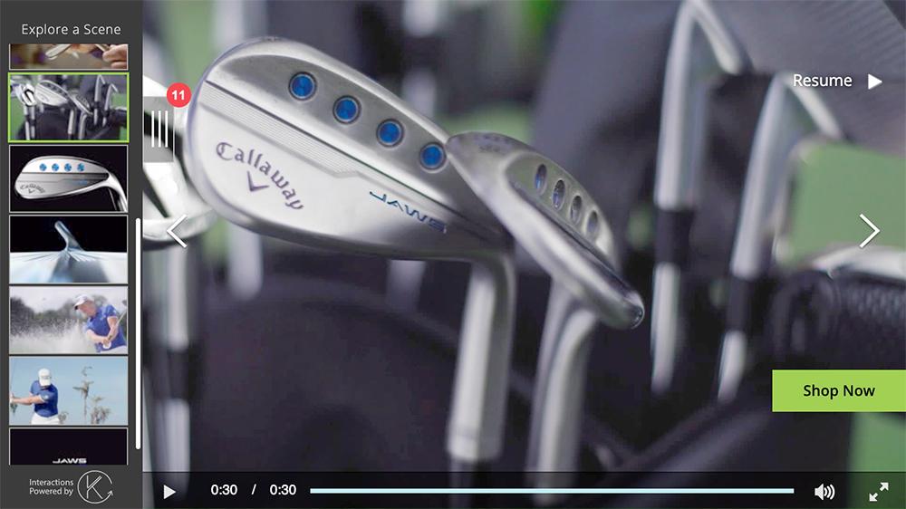 Callaway Golf branding