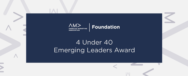 AMA Foundation 4 Under 40 Emerging Leaders Award