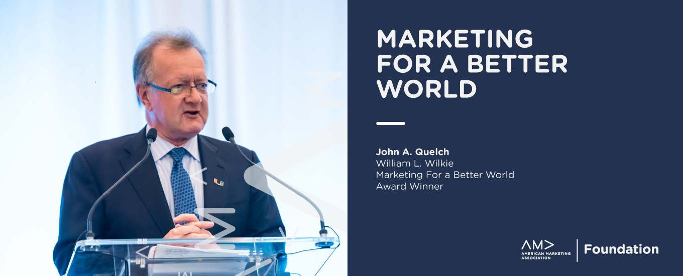 William L. Wilkie Marketing for a Better World Award