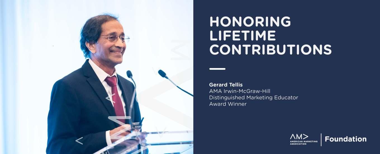 AMA-Irwin-McGraw-Hill Distinguished Marketing Educator Award
