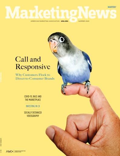 Marketing News Summer 2020 cover